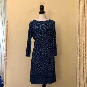 Donna Morgan Patterned Dress